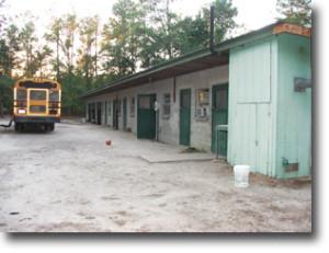Bus-at-camp