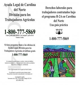 Derechos Laborales para los Trabajadores H-2A en Carolina del Norte 2014
