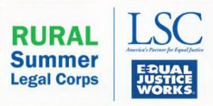 Join our team, Rural Summer Legal Corps Program