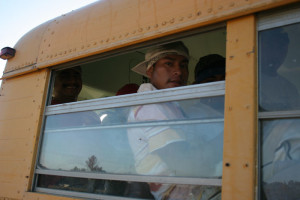 bus farmworkers